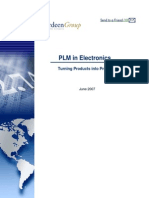 PLM in Electronics