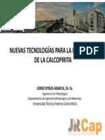 Charla Técnica - Nuevas Tecnologías Para La Lixiviación de Calcopirita