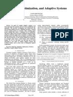 Satisficing, Optimization, and Adaptive Systems