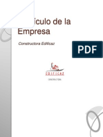 i) Curriculum Empresa Edificaz