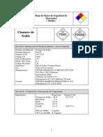 MSDS Cianuro de Sodio
