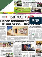 Periódico Norte edición impresa del día 13 de junio del 2014