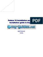 fedora 12 installation and post installation guide in english