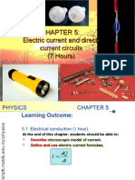 Matriculation Physics Electric Current and Direct Current Circuit (2)