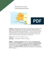 Plan de Rugaciune - Alaska