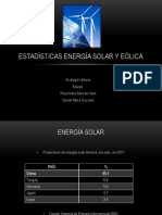 Energía Solar y Eólica