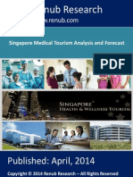 Singapore Medical Tourism Analysis and Forecast