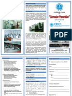 Brochure for Certificate Course on Corrosion PreventionApril 21-30-2014