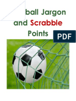 Football Jargon and Scrabble Points