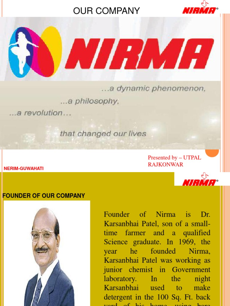 nirma-130316080200-phpapp02 | Cleaning Products | Marketing