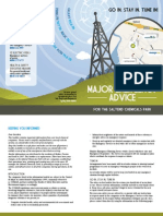 Major Emergency Advice Booklet - Saltend Chemicals Park