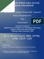 Presentasi Dr Asyamil