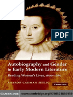 Autobiography and Gender