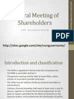 Lecture 6 - General Shareholders Meeting