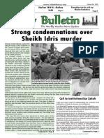 Friday Bulletin 580
