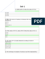 Statistical Methods MCQ'S