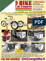 Presentazione Cargo Bike Tricicli Base Per Allestimenti