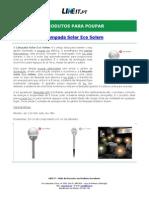 Lâmpada Solar Eco Solem
