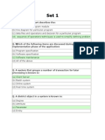 System Analysis and Design MCQ'S