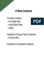 Wk14-Reactions of Metal Complexes (1)