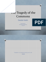 Tragedy of the Commons - Questions in Indian context