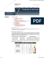Pag-Asa Steel Products & Services - Product Guide