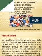 Asignatura de Tecnología Farmacéutica I