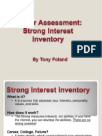 career assessment inventory standard 8