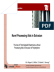 5. Novel Processing Aids in Extrusion