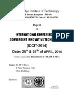 Report on ICCIT2014