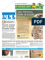 Asbury Park Press front page Friday, June 13 2014
