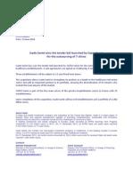 20140613 - PR - Icade Santé wins the tender bid launched by Capio Santé