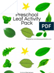 Leaf Activity Pack