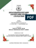 Laporan Program Sambutan Ihya' Ramadan