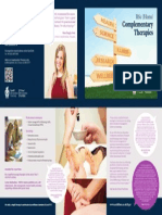 complementary therapies leaflet