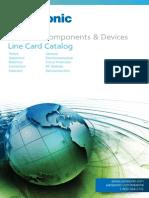 Panasonic Line Card Catalog