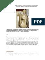 La vida del Papa Benedicto XVI. El Mundo Viene Salvado Del Crucificado y No de Los Crucificadores