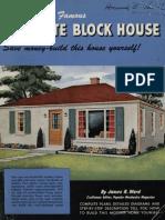 PopMechs Famous Concrete Block House