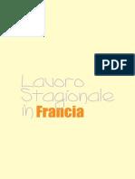 Lavoro Stagionale Francia