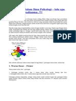 Arti Warna Dalam Ilmu Psikologi Pepew