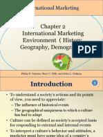 Chapter 2 Ntl Mktg