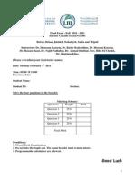 EENG300 Final Exam – Fall 2010 - 2011