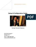 Ver i Sign Payment Gateway Interface Guide