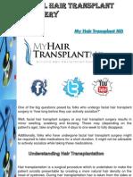 Facial Hair Transplant Recovery