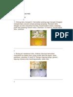 Cara Membuat Tahu Pong