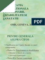 Clasificatia OMS 2001