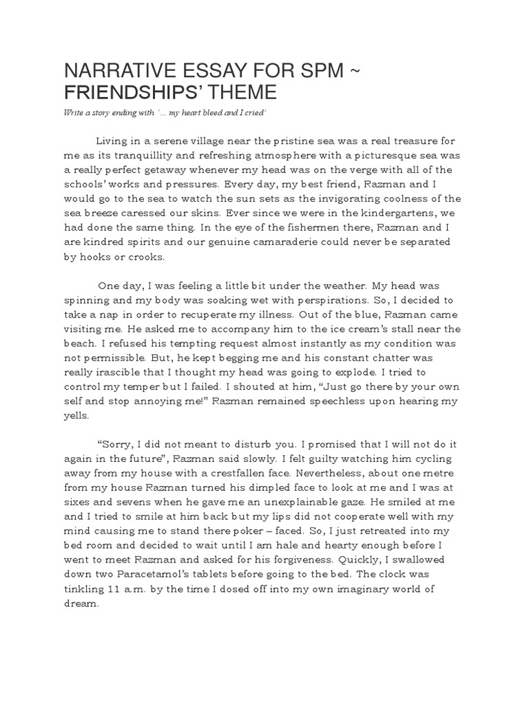 English spm essay model quickstart resume writer