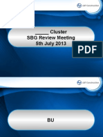 SBG Review Meeting