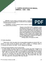 Hansen - 1995 - O Nu e a Luz. Cartas Jesuíticas Do Brasil. Nóbrega