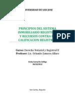 Principios Del Sistema Inmobiliario Registral[1]